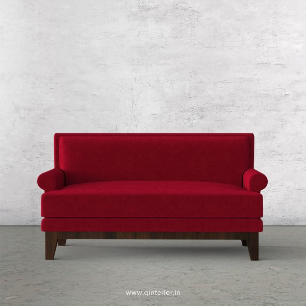 Aviana 2 Seater Sofa in Velvet Fabric - SFA001 VL08