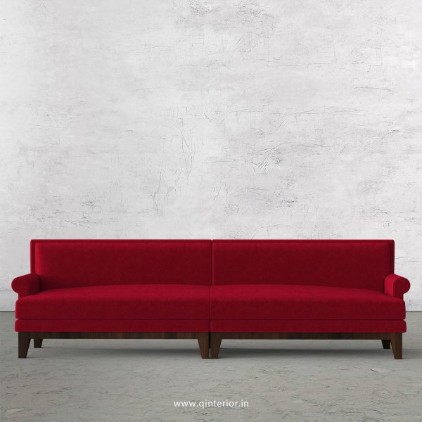 Aviana 4 Seater Sofa in Velvet Fabric - SFA001 VL08