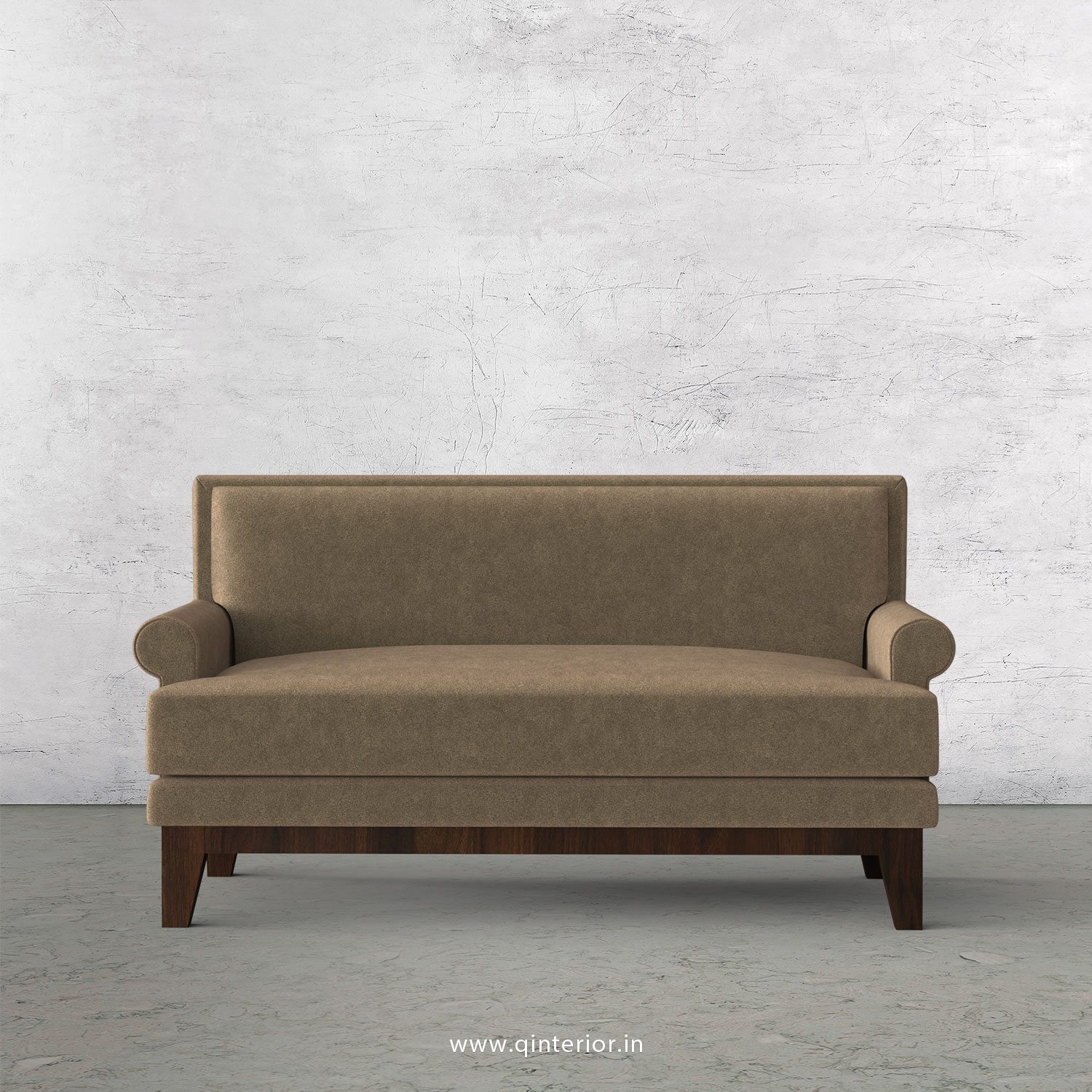 Aviana 2 Seater Sofa in Velvet Fabric - SFA001 VL11