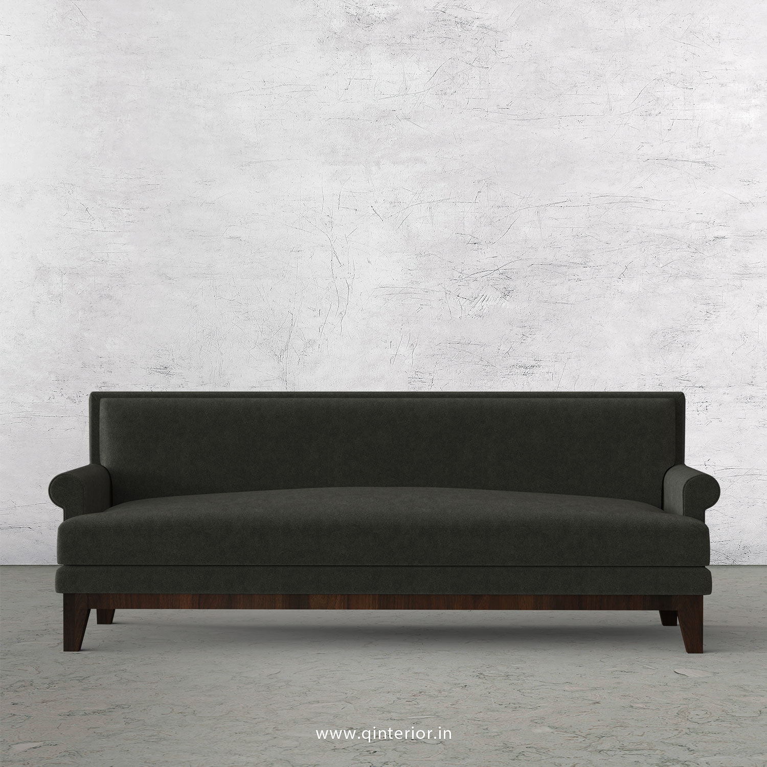 Aviana 3 Seater Sofa in Velvet Fabric - SFA001 VL15