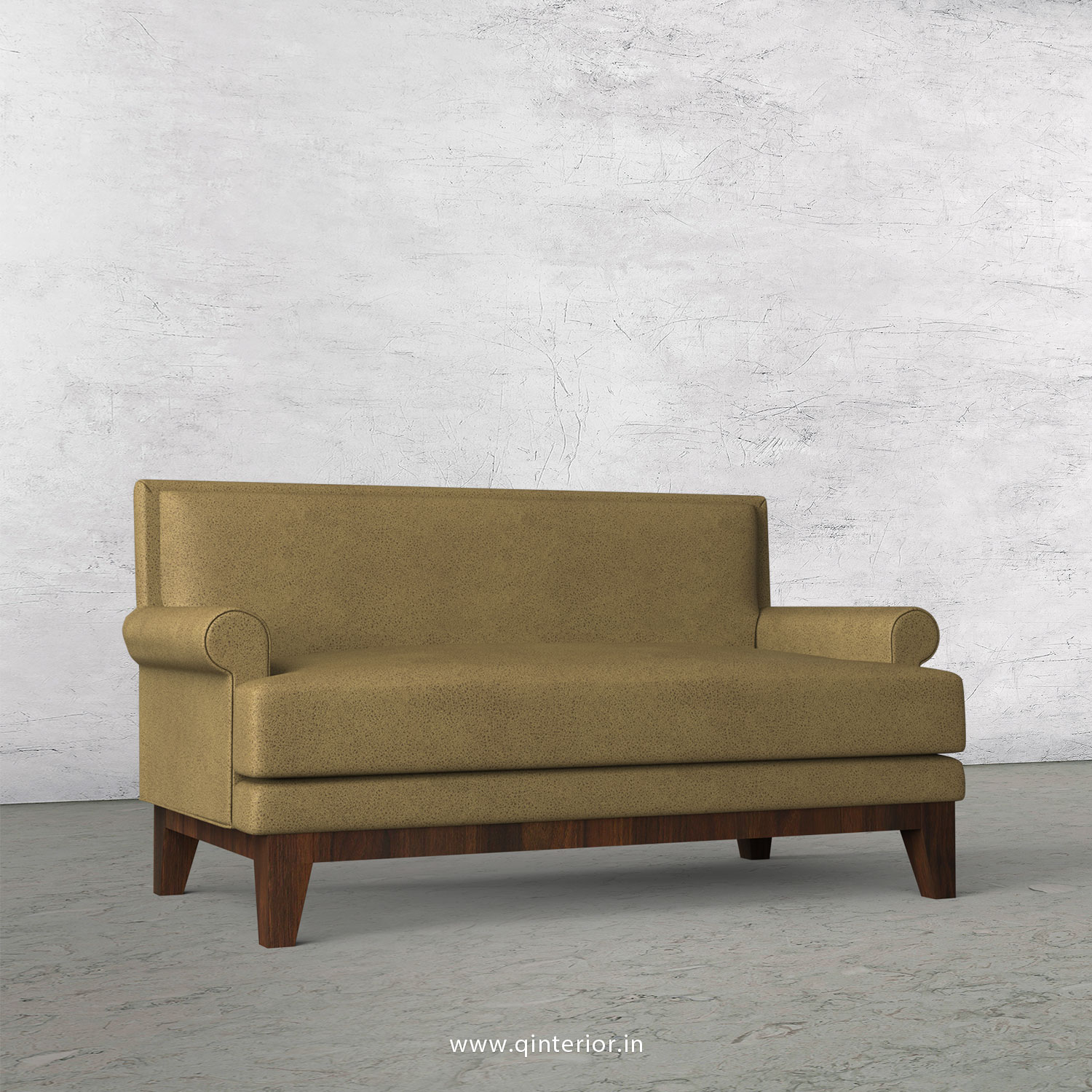 Aviana 2 Seater Sofa in Fab Leather Fabric - SFA001 FL01