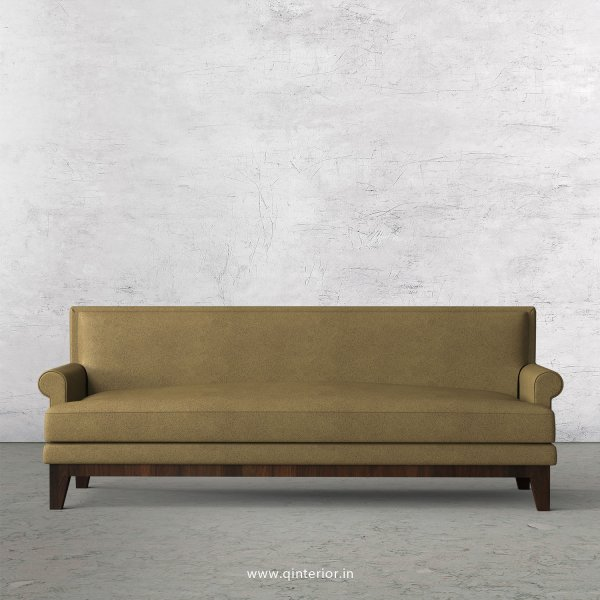 Aviana 3 Seater Sofa in Fab Leather Fabric - SFA001 FL01