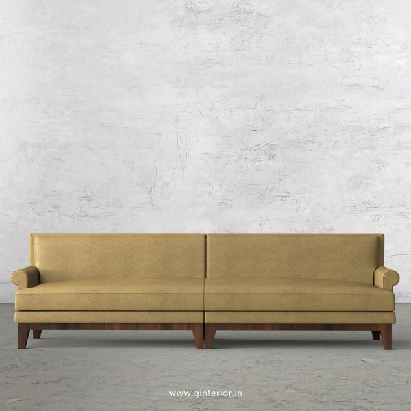 Aviana 4 Seater Sofa in Fab Leather Fabric - SFA001 FL01