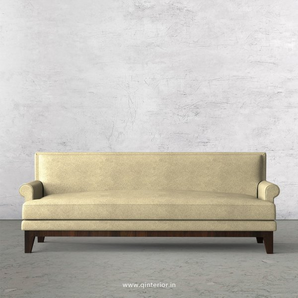 Aviana 3 Seater Sofa in Fab Leather Fabric - SFA001 FL10