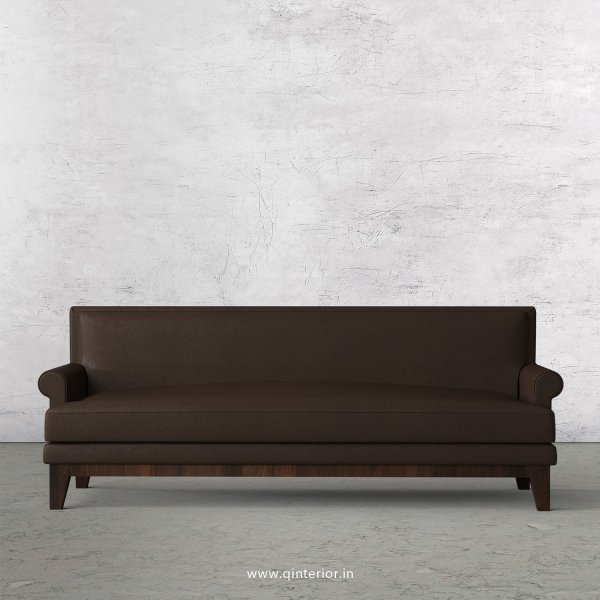 Aviana 3 Seater Sofa in Fab Leather Fabric - SFA001 FL16