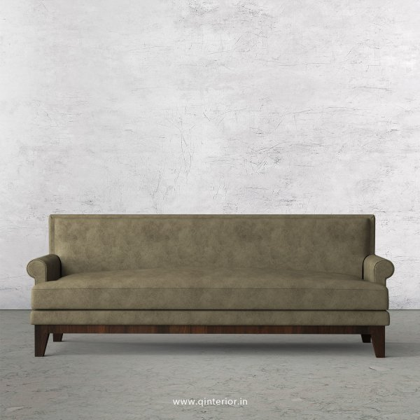 Aviana 3 Seater Sofa in Fab Leather Fabric - SFA001 FL03