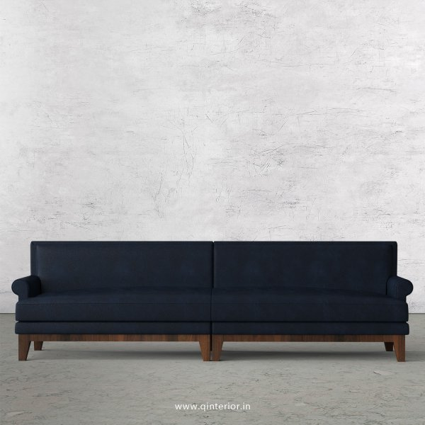 Aviana 4 Seater Sofa in Fab Leather Fabric - SFA001 FL05