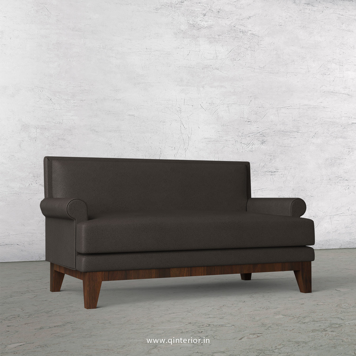Aviana 2 Seater Sofa in Fab Leather Fabric - SFA001 FL15