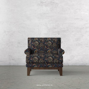 Aviana 1 Seater Sofa in Bargello Fabric - SFA001 BG01