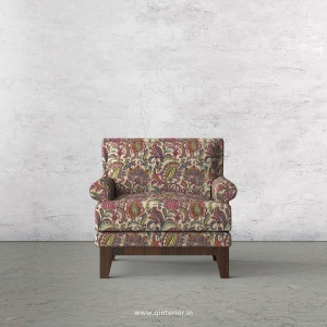 Aviana 1 Seater Sofa in Bargello Fabric - SFA001 BG06