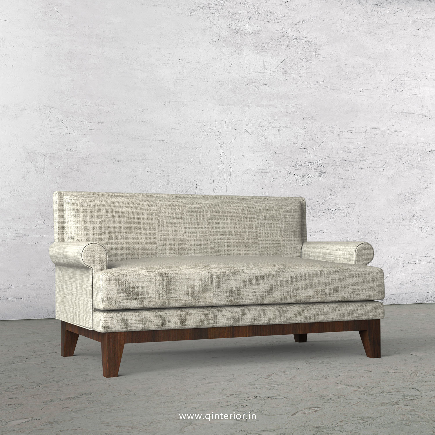 Aviana 2 Seater Sofa in Cotton Fabric - SFA001 CP10