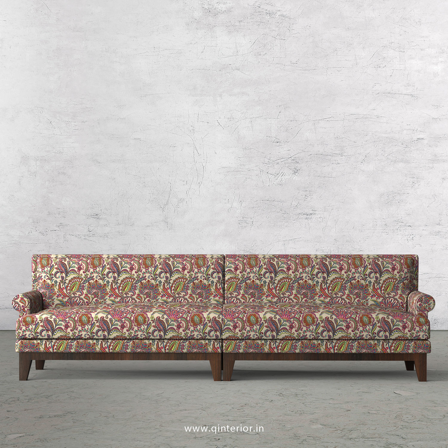 Aviana 4 Seater Sofa in Bargello Fabric - SFA001 BG06