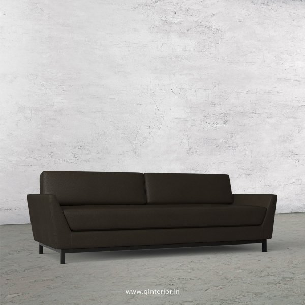 Blitz 3 Seater Sofa in Fab Leather Fabric - SFA002 FL11