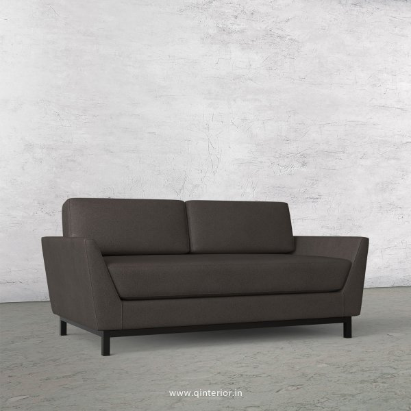Blitz 2 Seater Sofa in Fab Leather Fabric - SFA002 FL15