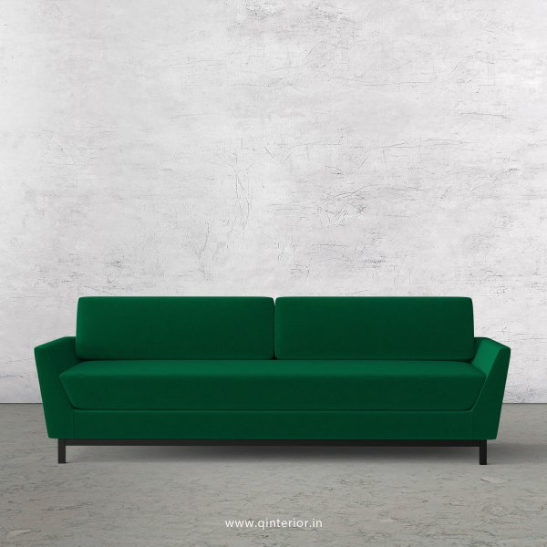 Blitz 3 Seater Sofa in Velvet Fabric - SFA002 VL13