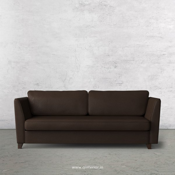 KINGSTONE 3 Seater Sofa in Fab Leather Fabric - SFA004 FL16