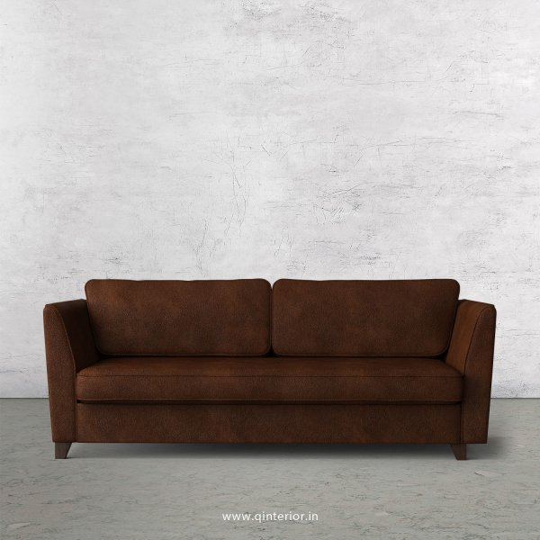 KINGSTONE 3 Seater Sofa in Fab Leather Fabric - SFA004 FL09