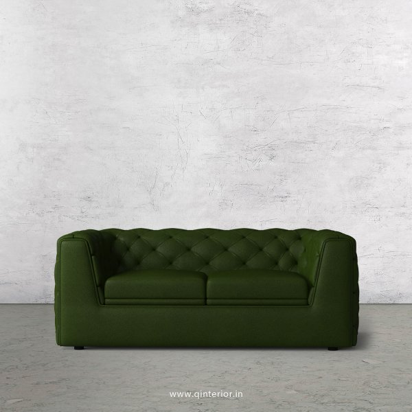ERGO 2 Seater Sofa in Fab Leather Fabric - SFA009 FL04