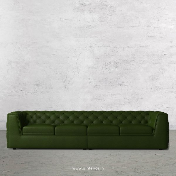 ERGO 4 Seater Sofa in Fab Leather Fabric - SFA009 FL04