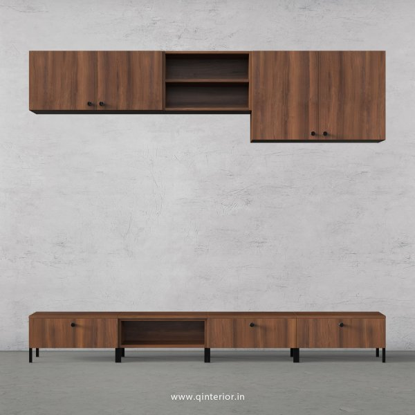Stable TV Floor Unit in Teak Finish – TVU014 C3