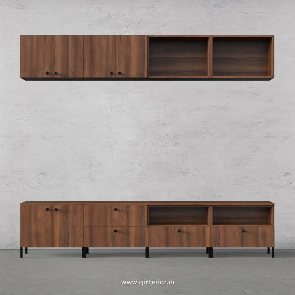 Stable TV Floor Unit in Teak Finish – TVU017 C3