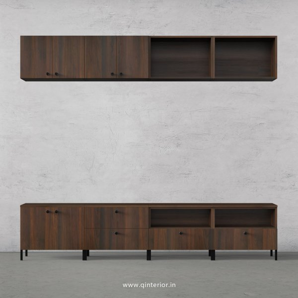 Stable TV Floor Unit in Walnut Finish – TVU017 C1