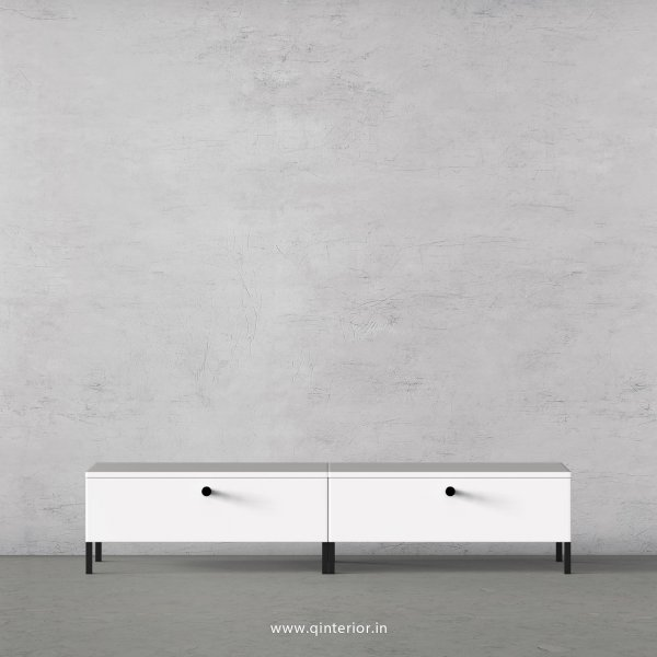 Stable TV Floor Unit in White Finish – TVU001 C4