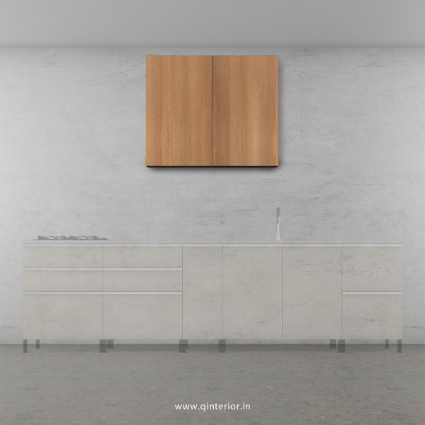 Stable Kitchen Wall Cabinet in Oak Finish - KWC007 C2