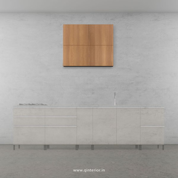 Stable Kitchen Wall Cabinet in Oak Finish - KWC010 C2