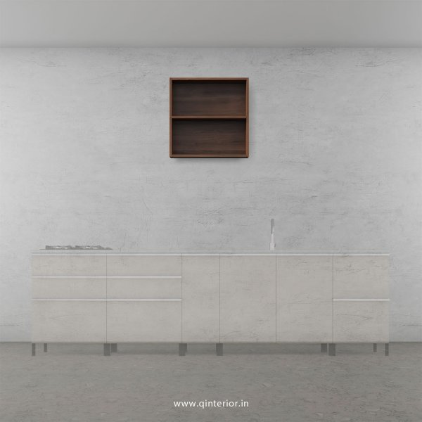 Stable Kitchen Wall Cabinet in Teak Finish - KWC003 C3