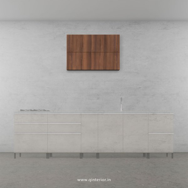 Stable Kitchen Wall Cabinet in Teak Finish - KWC009 C3