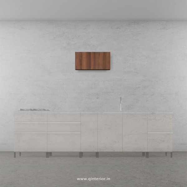 Stable Kitchen Wall Cabinet in Teak Finish - KWC011 C3
