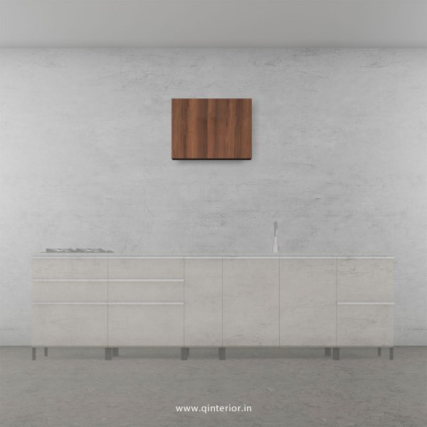 Stable Kitchen Wall Cabinet in Teak Finish - KWC008 C3