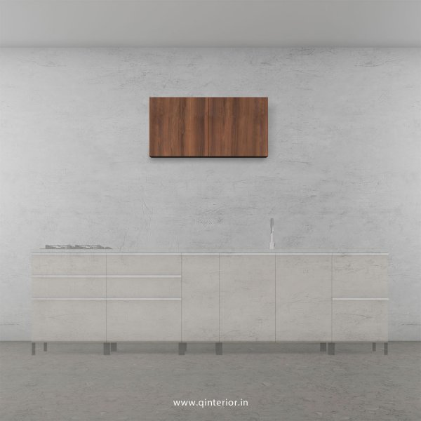 Stable Kitchen Wall Cabinet in Teak Finish - KWC005 C3