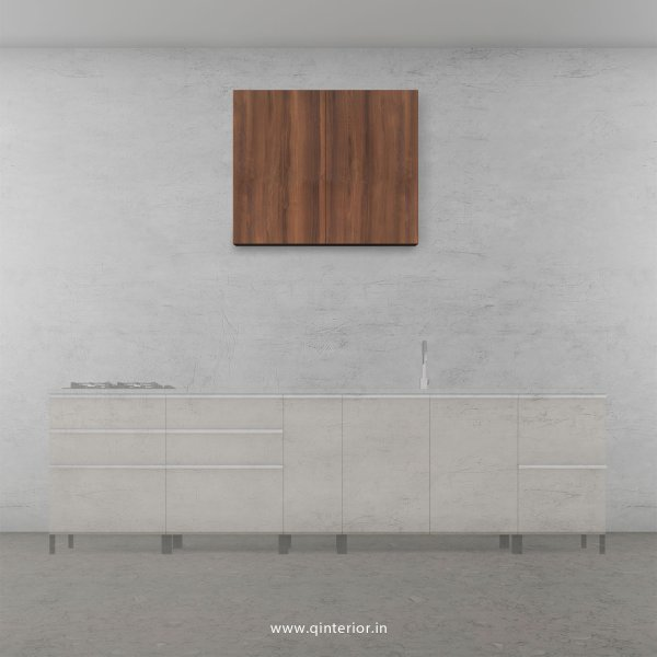 Stable Kitchen Wall Cabinet in Teak Finish - KWC007 C3