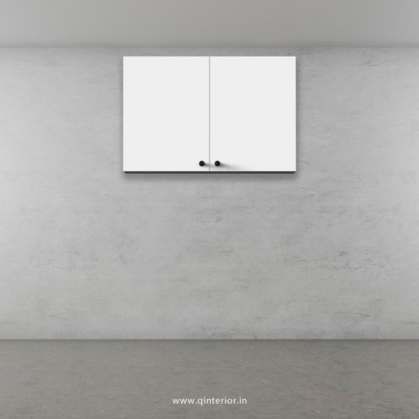 Stable Wall Cabinet in White Finish - WC006 C4