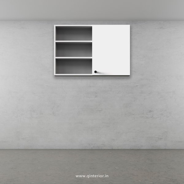 Stable Wall Cabinet in White Finish - WC007 C4