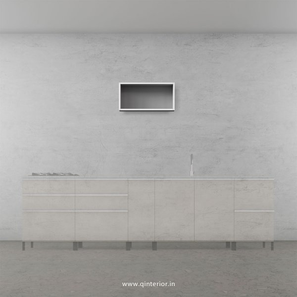 Stable Kitchen Wall Cabinet in White Finish - KWC001 C4