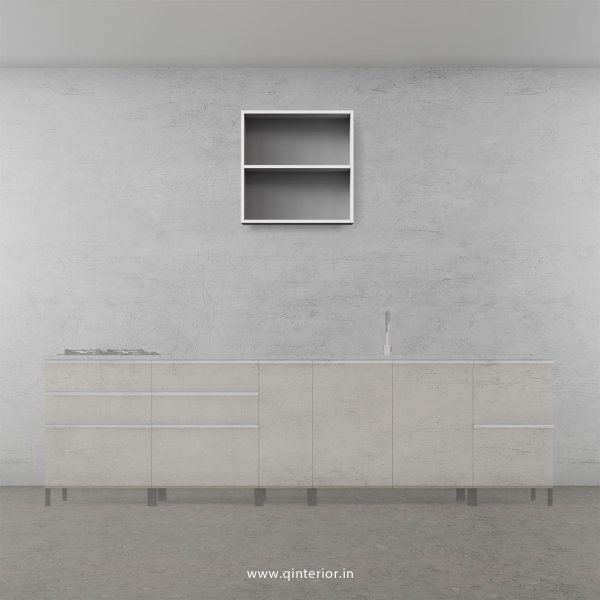 Stable Kitchen Wall Cabinet in White Finish - KWC003 C4