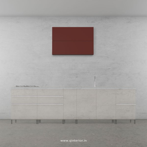 Lambent Kitchen Wall Cabinet in White and Shangrilla Finish - KWC009 C14