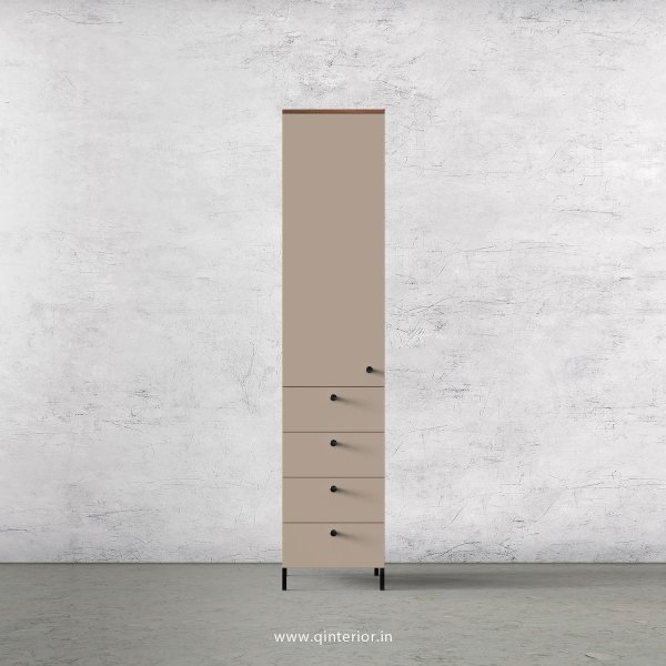 Lambent 1 Door Wardrobe in Oak and Irish Cream Finish – SWRD008 C21