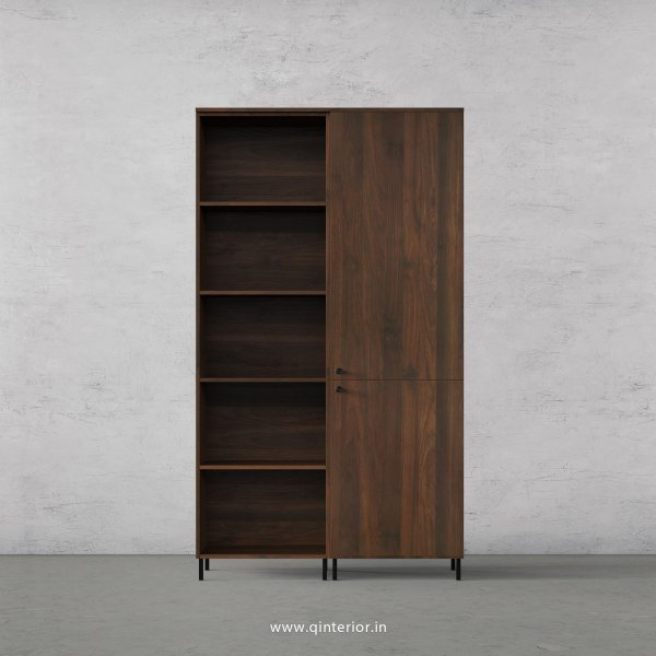 Stable Book Shelf in Walnut Finish – BSL008 C1
