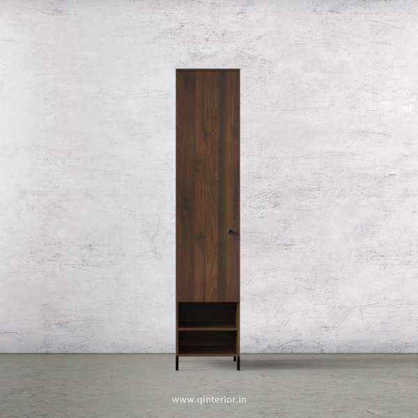 Stable 1 Door Wardrobe in Walnut Finish – SWRD017 C1