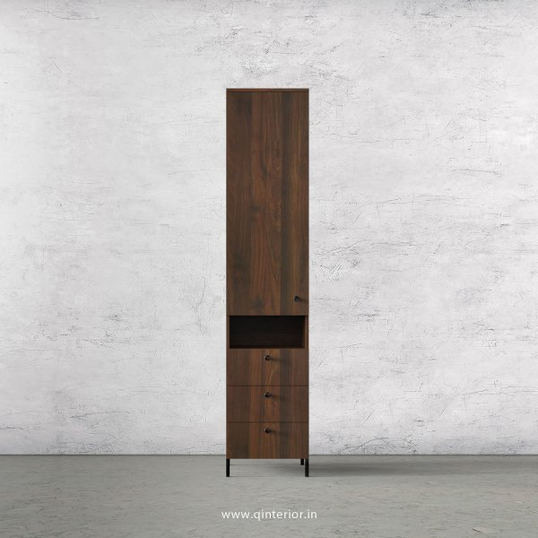 Stable 1 Door Wardrobe in Walnut Finish – SWRD014 C1