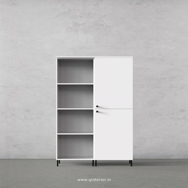 Stable Book Shelf in White Finish – BSL007 C4