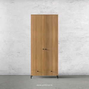 Stable 2 Door Wardrobe in Oak Finish – DWRD002 C2