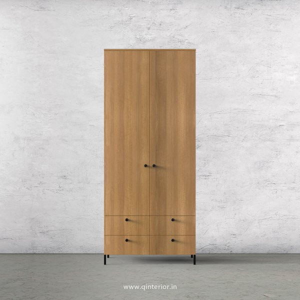Stable 2 Door Wardrobe in Oak Finish – DWRD003 C2