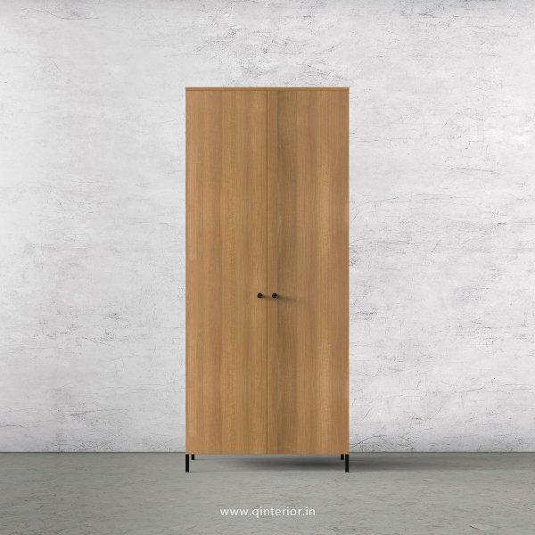 Stable 2 Door Wardrobe in Oak Finish – DWRD001 C2