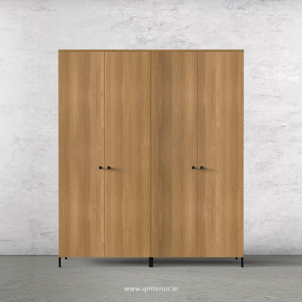 Stable 4 Door Wardrobe in Oak Finish – FWRD001 C2