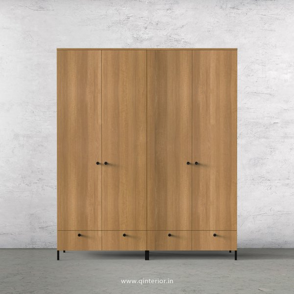 Stable 4 Door Wardrobe in Oak Finish – FWRD002 C2